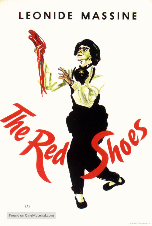 The Red Shoes - British Movie Poster