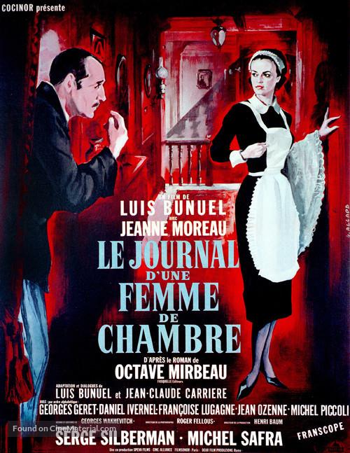 Le journal d'une femme de chambre - French Movie Poster