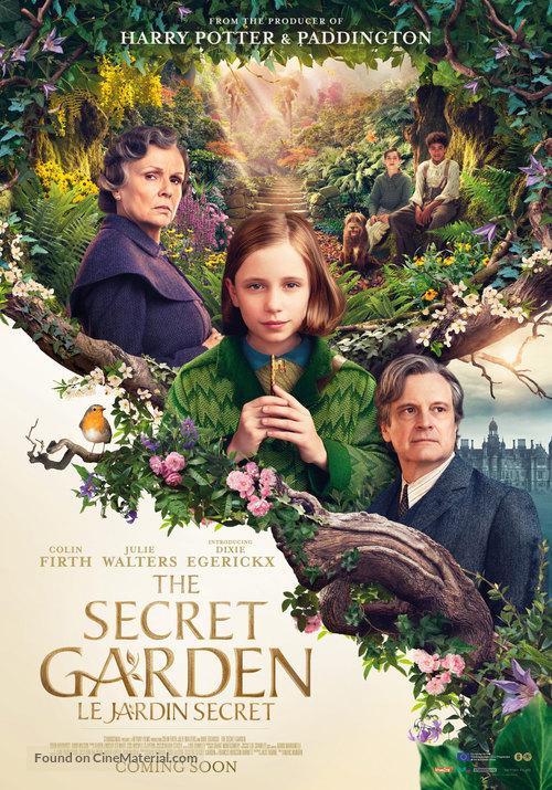 The Secret Garden - Belgian Movie Poster