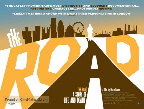 The Road: A Story of Life & Death - British Movie Poster