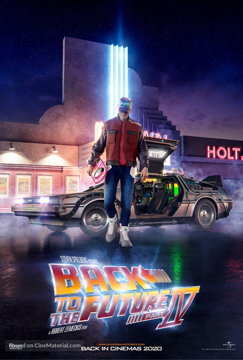 Back to the Future Part II - Movie Poster