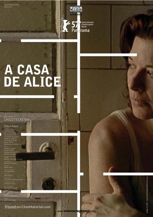 A Casa de Alice - Brazilian poster