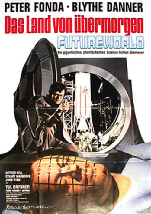 Futureworld - German Movie Poster