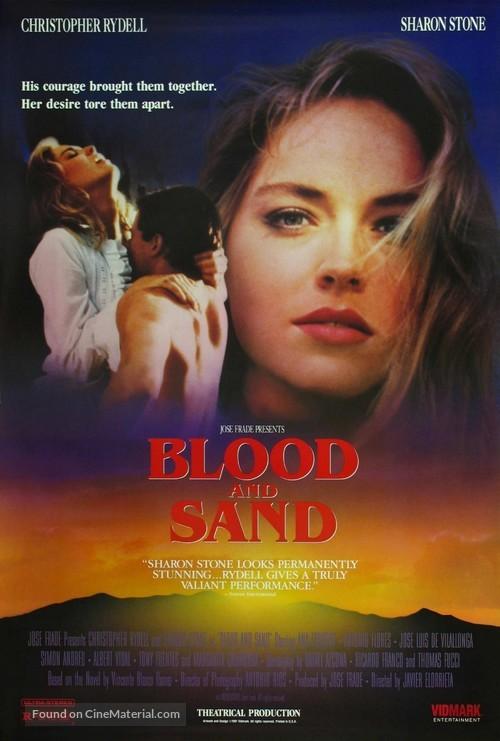 Sangre y arena - Movie Poster
