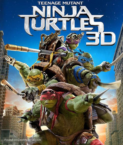 Teenage Mutant Ninja Turtles - Blu-Ray movie cover