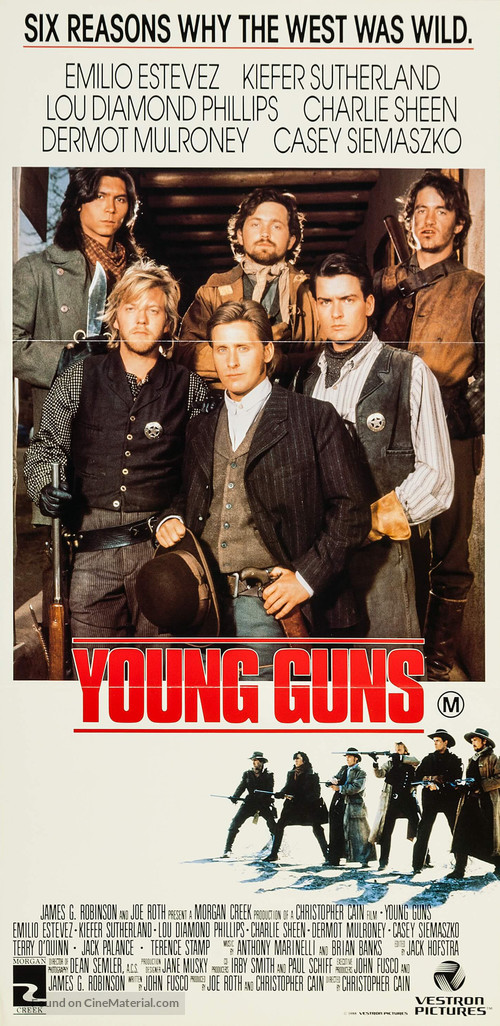 Young Guns - Australian Movie Poster