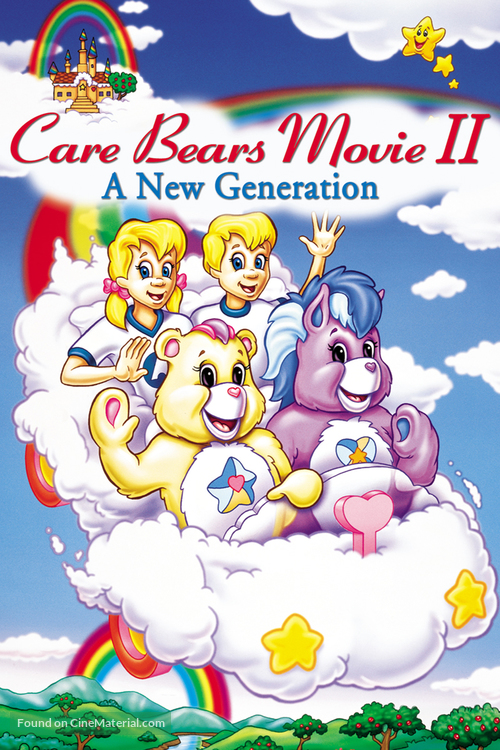 Care Bears Movie II: A New Generation - DVD cover