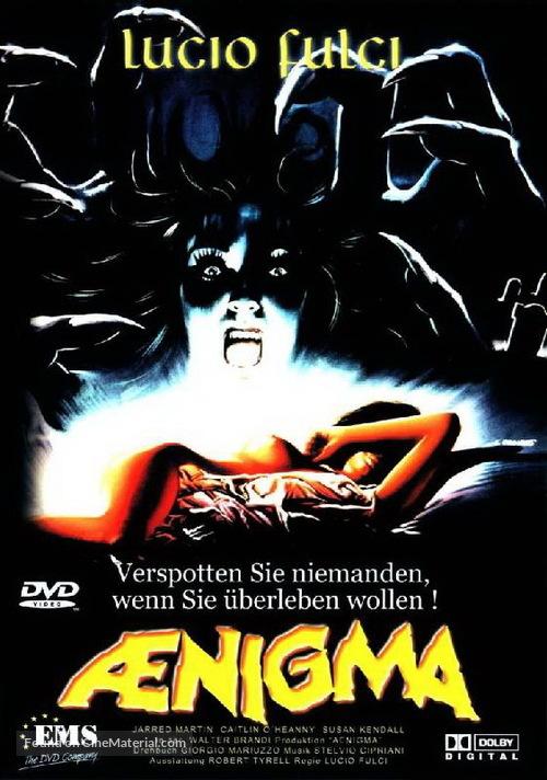 Aenigma - German DVD movie cover