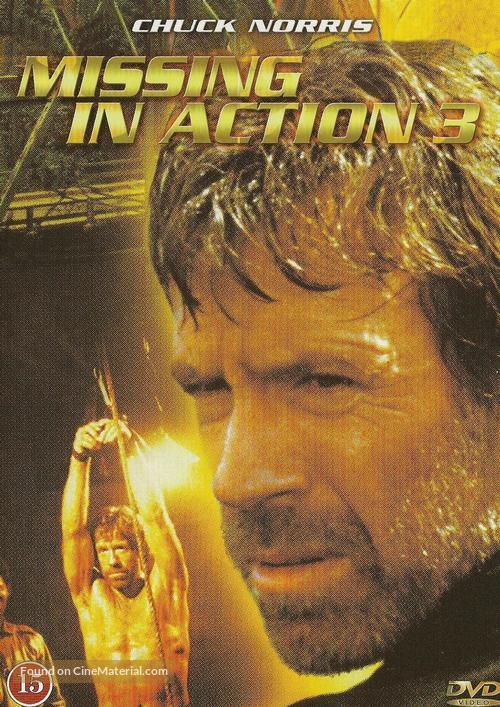 Braddock: Missing in Action III - Danish DVD movie cover