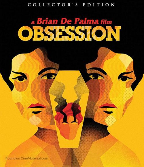 Obsession - Blu-Ray movie cover