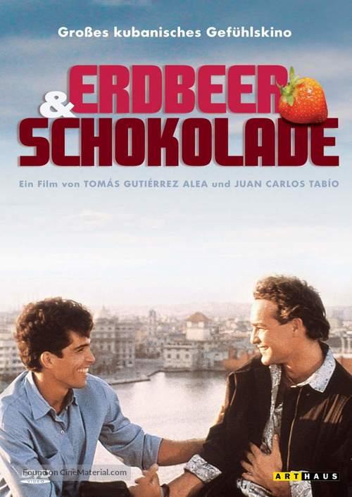 Fresa y chocolate - German Movie Cover