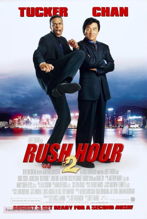 Rush Hour 2 - Movie Poster
