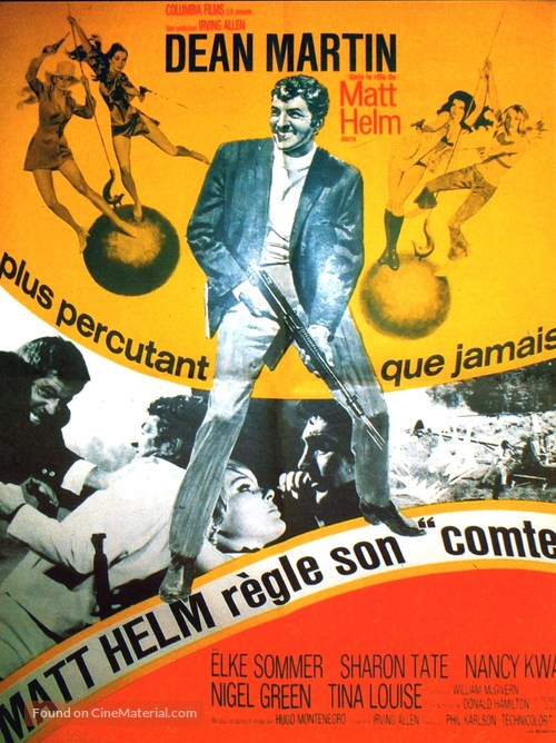 The Wrecking Crew - French Movie Poster