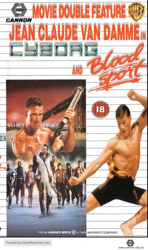 Cyborg - British Movie Cover