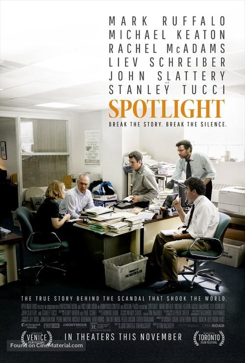Spotlight - Movie Poster