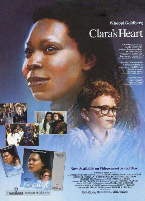 Clara's Heart - Movie Poster