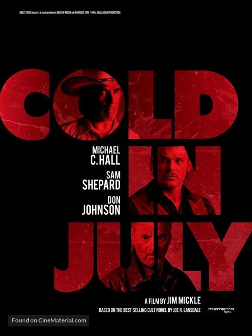 Cold in July - Movie Poster