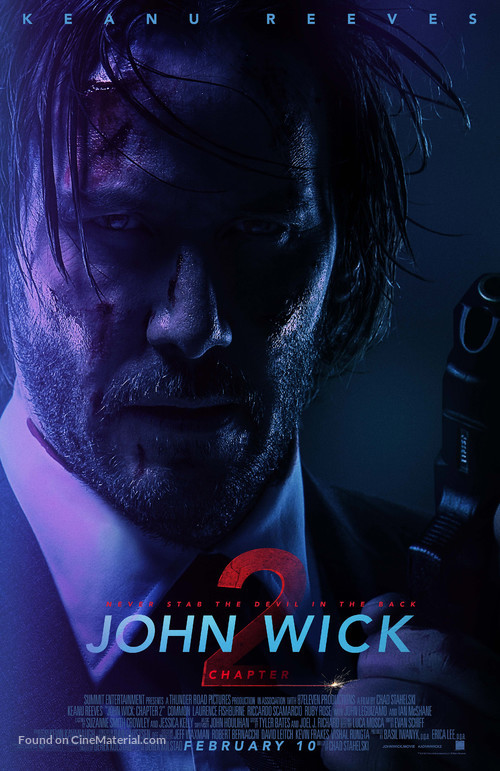 John Wick: Chapter Two - Theatrical movie poster