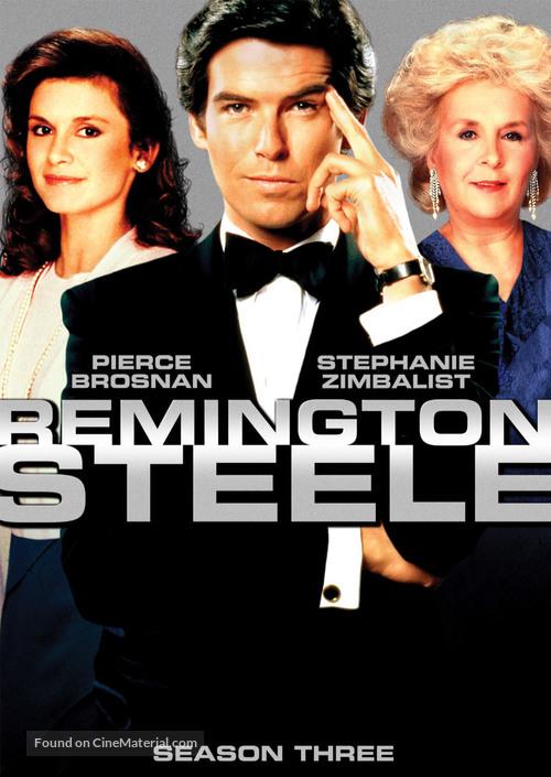 """Remington Steele"" - DVD movie cover"