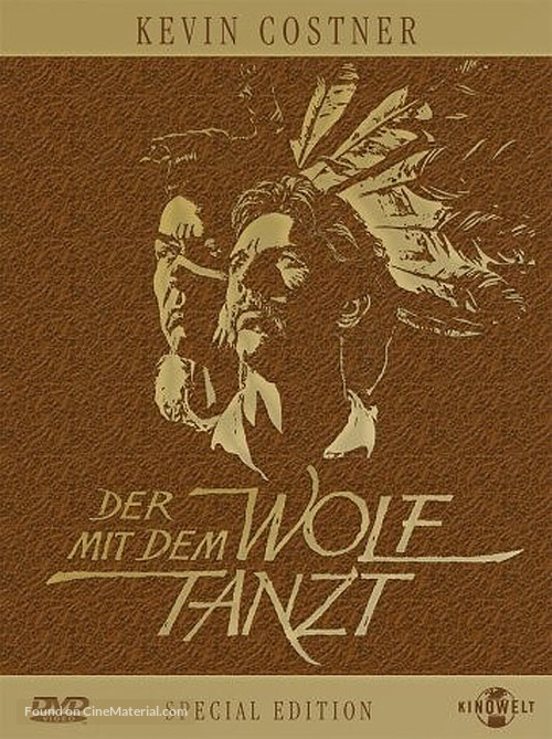 Dances with Wolves - German DVD movie cover