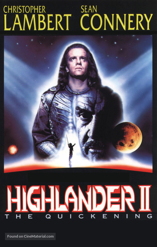Highlander 2 - VHS movie cover