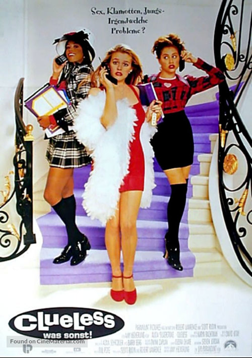Clueless - German Movie Poster