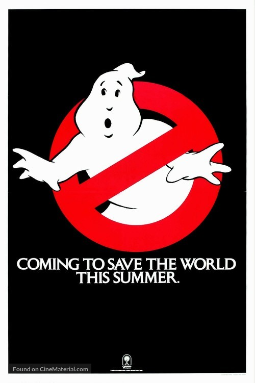 Ghostbusters - Teaser movie poster