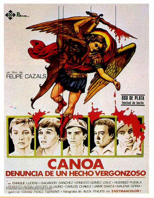 Canoa - Spanish Movie Poster