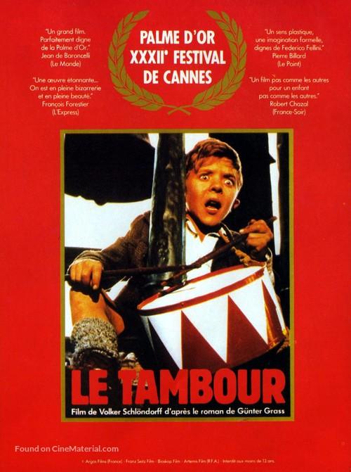Die Blechtrommel - French Movie Poster