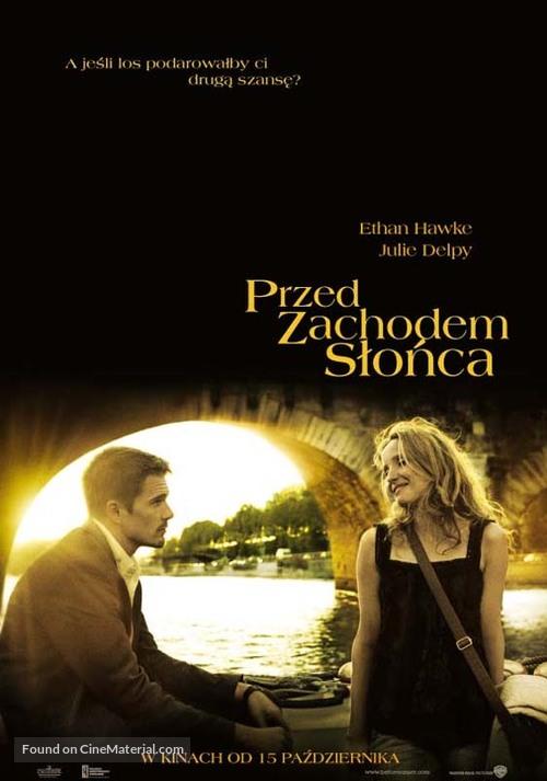 Before Sunset - Polish Movie Poster