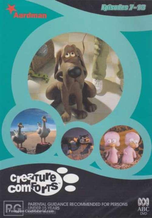 """Creature Comforts"" - Australian DVD movie cover"