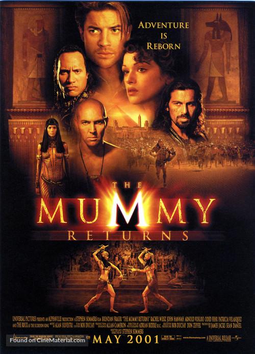 The Mummy Returns - Movie Poster