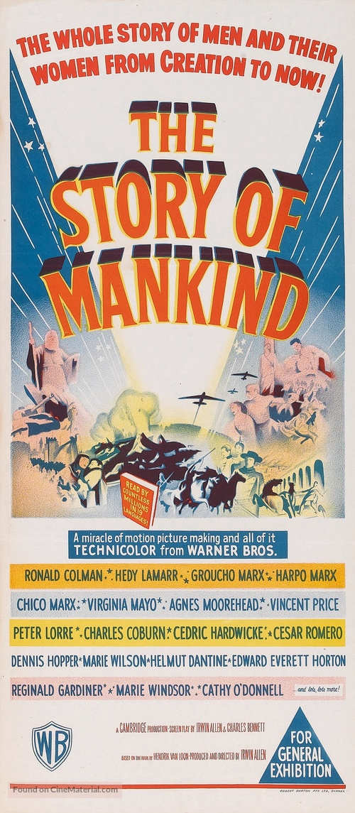 The Story of Mankind - Australian Movie Poster
