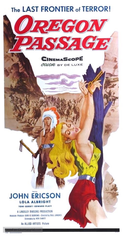 Oregon Passage - Movie Poster