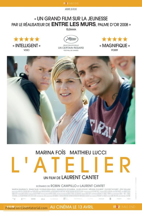 L'atelier - Canadian Movie Poster