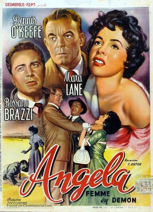 Angela - Belgian Movie Poster