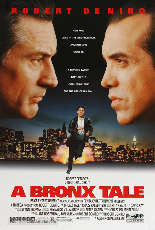 A Bronx Tale - Movie Poster