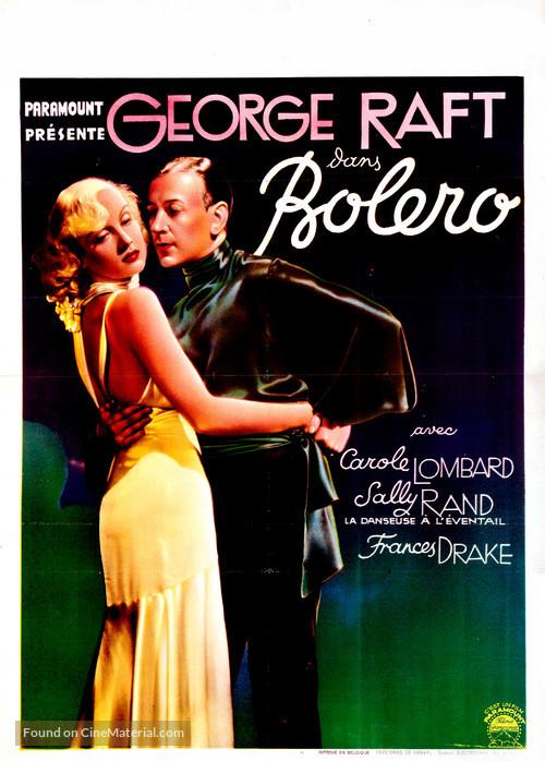 Bolero - Belgian Movie Poster