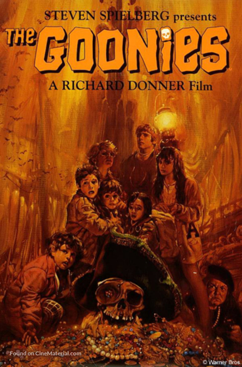 The Goonies - Movie Cover