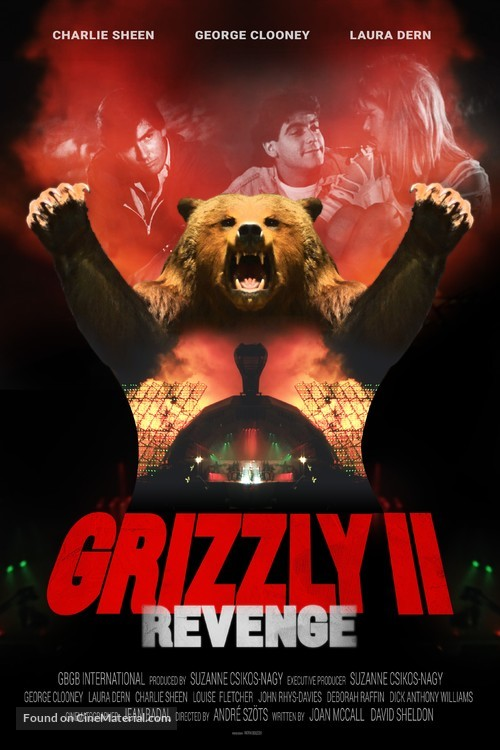 Grizzly II: The Concert - Movie Poster