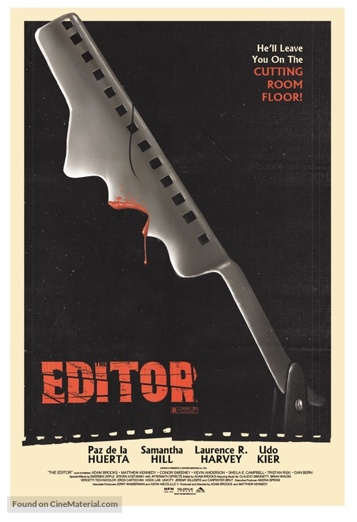 The Editor - Movie Poster