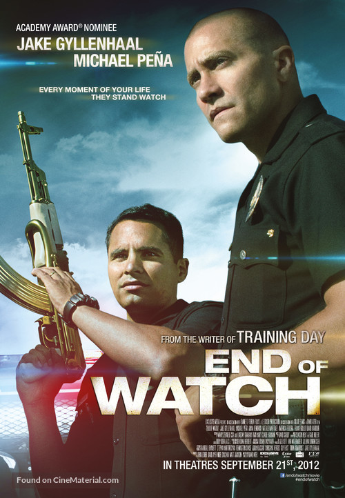 End of Watch - Canadian Movie Poster