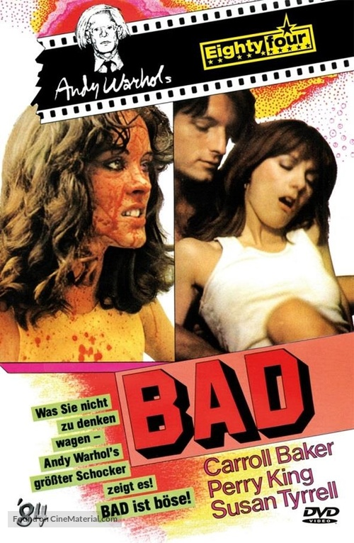 Bad - German DVD movie cover
