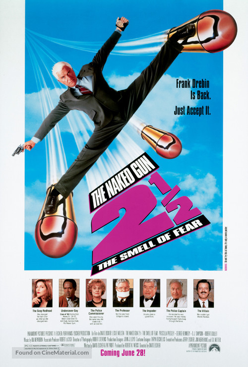 The Naked Gun 2½: The Smell of Fear - Movie Poster