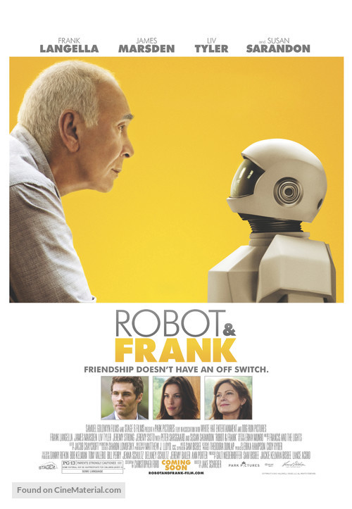 Robot & Frank - Theatrical movie poster