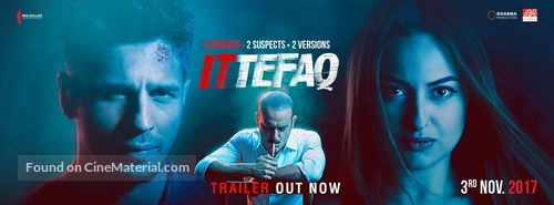 ITTEFAQ (2017) con SIDHARTH MALHOTRA + Sub. Español + Online Ittefaq-indian-movie-poster
