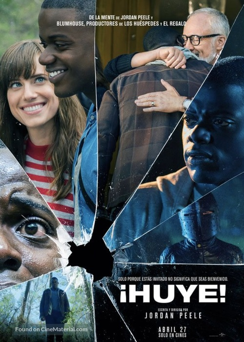 Get Out - Mexican Movie Poster