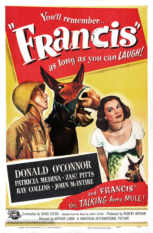 Francis - Movie Poster