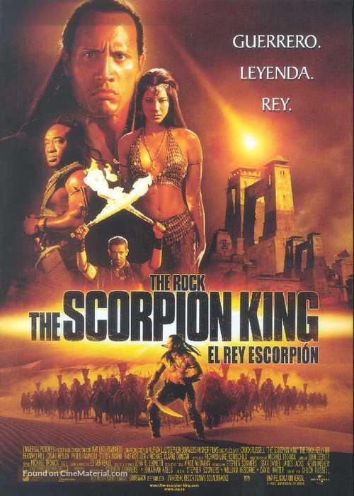 The Scorpion King - Spanish Movie Poster