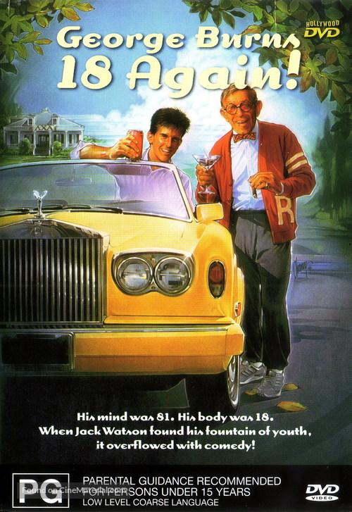 18 Again! - Australian DVD movie cover